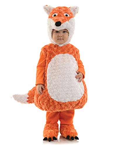 Horror-Shop Fuchs Kleinkinder Kostüm für Fasching und Kindergeburtstag XL (Zug Kleinkind Kostüm)