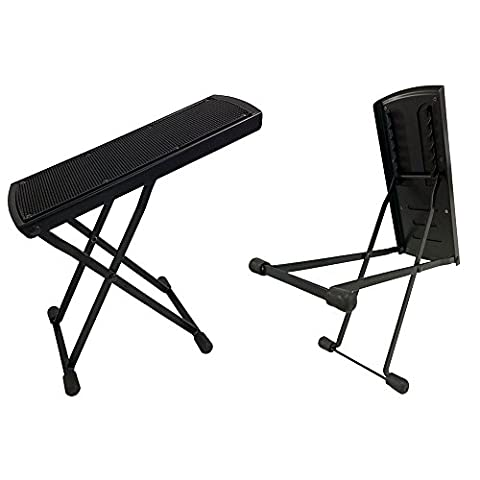 Rocket Guitar Foot Stool - Black