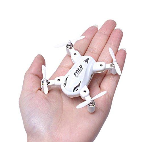 Preisvergleich Produktbild Omiky® Heiße Art und Weise SY-X31 Mini Falten 2.4GHz 4CH 6 Achsen Kreiselkompaß RC Quadcopter Ein Schlüssel Auto Rückkehr (weiß)