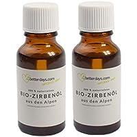 Zirbenöl Doppelpack 20 + 20 ml | Made in Austria | 100% naturrein preisvergleich bei billige-tabletten.eu