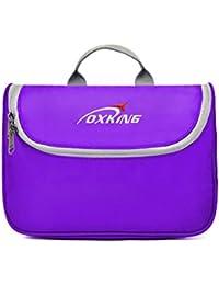 Ultralight Topsky® Travel Cosmetic Toiletry Bags Waterproof Unisex Multifunctional Wash With Hook 30325 Multi Colours violeta Viola - viola