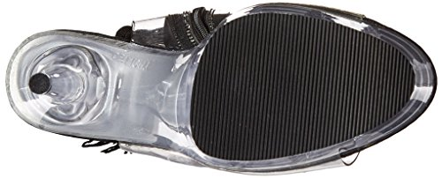 Pleaser DELIGHT-1017TF Clr-Blk/Clr