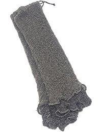 Pulswärmer Armstulpen Handstulpen Handschuhe Stulpen Wrist warmers Hand-Schuhe gestickt