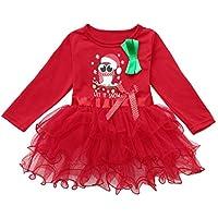 Cosplay Cumpleaños Vestido de Princesa Niño Bebé Bebé Niñas Navidad Xmas Cartoon Princess Tutu Dress Outfits