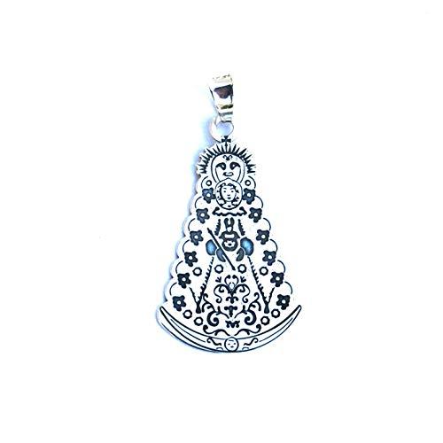 Medalla Virgen del Rocio Plata DE Ley 925/1000 - MASBARATA.ES