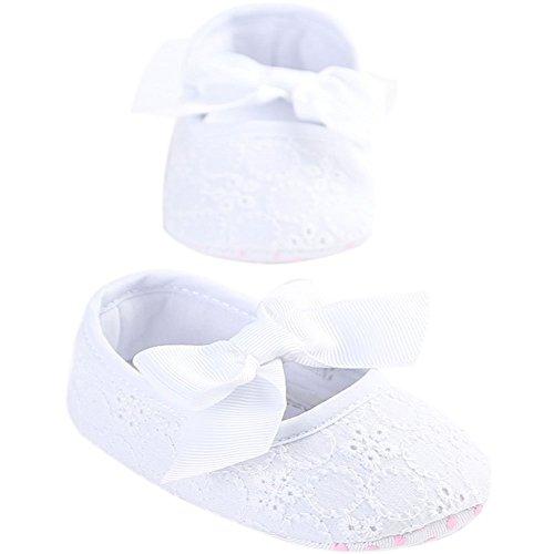 Etrack-Online , Baby Jungen Lauflernschuhe White Pink 12 - 18 Monate weiß