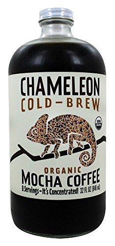 Chameleon Cold-Brew - Mocha concentrada de café orgánico en frío para café - 32 fl. onz.