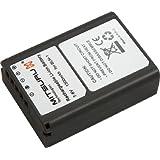 Mitsuru® batterie de remplacement pour Olympus BLN-1 BLN1 compatible avec Olympus E-P5 EM-5 OM-D E-M1 E-M5 E-M5 Mark 2 E-M5 Mark II E-P5