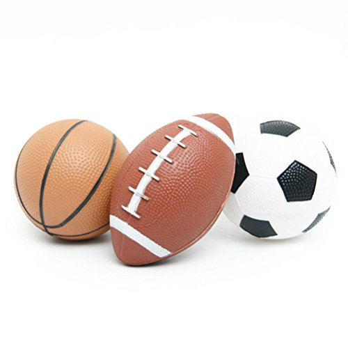 YIJIAOYUN Set balones Deportivos niños Baloncesto