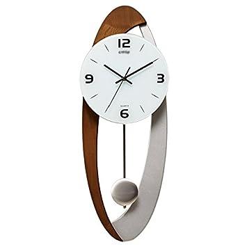 ZWL Uhren Und Uhren Creative Clock Art Pendel Uhren Hand Wanduhr Wohnzimmer  Uhr Modern Einfache Mode Persönlichkeit Mute Vererbung Fähigkeiten  22x58.7cm ...