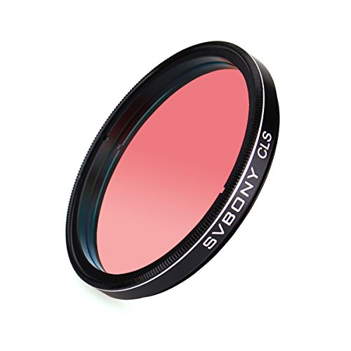 Svbony Filter 2 Inch CLS Filter Light Pollution Filter Suitable for Observing Astronomical Photography CCD Cameras and DSLR (2inch)