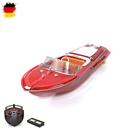 RC r/c ferngesteuertes Luxusyacht Boot Speedboot Rennboot Yacht! KOMPLETT-SET inkl. Fernsteuerung + Akku + Ladegerät + Batterien!