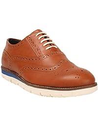 Abof Men Tan Brown Casual Shoes