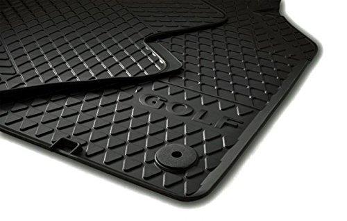 Golf 5 & 6 Gummi VW Fußmatten SET Original, schwarz