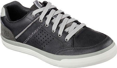 Skechers (SKEES) Diamondback-rendol, baskets sportives homme noir (BLK)