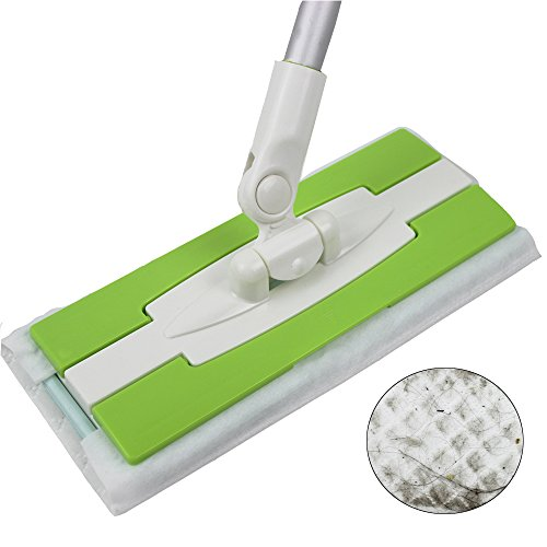 static-floor-duster-cleaning-mop-quick-clean-and-away-dusting-floor-sweeper-added-10-refill-cloth