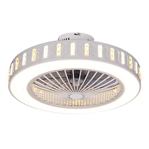 *Ceiling Das Ventilatorlicht Deckenventilator mit Lampe leise deckenventilator LED Deckenleuchte Schlafzimmer Lampe Büro Kinderzimmer Beleuchtung LED Deckenleuchte,H*