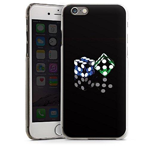 Apple iPhone 4 Housse Étui Silicone Coque Protection Dé Jeu Miroir CasDur transparent
