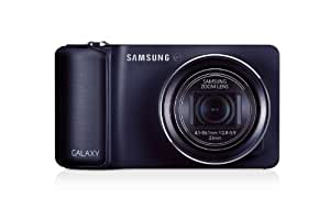 Samsung Galaxy Kamera (16 Megapixel, 21-fach opt. Zoom, 12,2 cm (4,8 Zoll) Touchscreen, Cortex A9, Quad-Core, 1,4GHz, WiFi, 3G, Android 4.1) kobalt schwarz