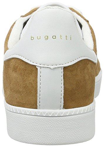 bugatti Damen 422282017050 Sneaker Braun (Cognac / White)