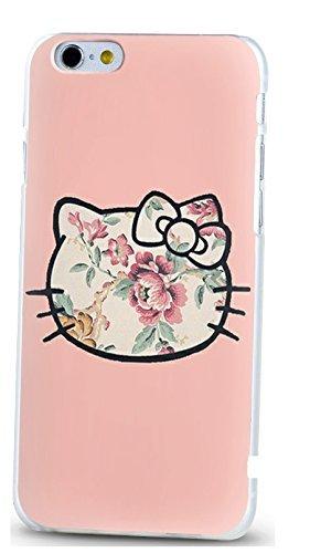 Casetic | iPhone 8+ Schutzhülle Battery TPU Hülle Cover Handyhülle Bumper leichte Handytasche Hülle mit Foto Silikon Case Hüllen sorgen für kratzfesten Schutz (iPhone 8+, Battery) Kitty