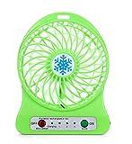 Gift Led Mini Fan Portable Electric Fans Portable Rechargeable Desktop Fan Cooling Air Conditioner Portable Fan Party D