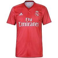 adidas Real Madrid Third – Camiseta de fútbol para Hombre, Color Real Coral, ...