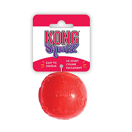 Kong Squeezz Ball - Extra Large (Colour: Sapphire) (Toy Kong Company Dog)