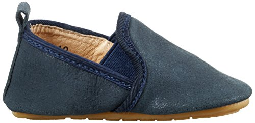 MOVE Prewalker Slip On Lauflernschuh Unisex, Chaussures Marche Mixte Bébé Bleu - Blau (Dark Denim275)