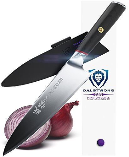 DALSTRONG Chef Knife - Phantom Series - Japanese AUS8 Steel - 8""