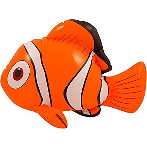 Inflatable Clown Fish 45cm by Pams