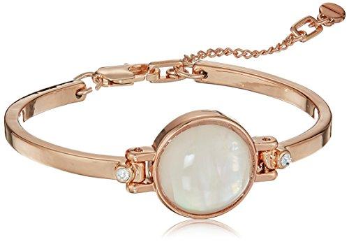 Kenneth Cole New York Womens Blush Moonstone Flex Bracelet, Blush, One Size