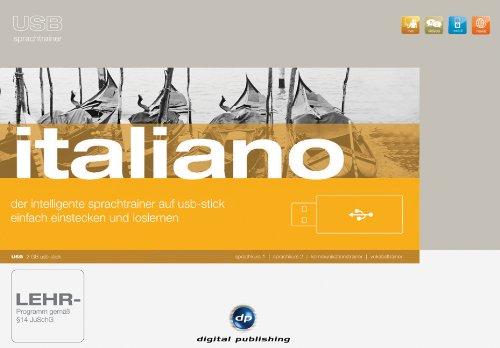 USB Sprachtrainer Italiano: Das intelligente Sprachlernsystem für Italienisch auf USB-Stick