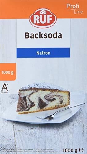 RUF Lebensmittelwerk Natron, 2er Pack (2 x 1000 g)