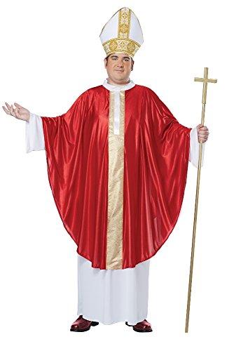 Der Papst  Kostüm Übergröße Karneval Herren Verkleidung Größe XXXL