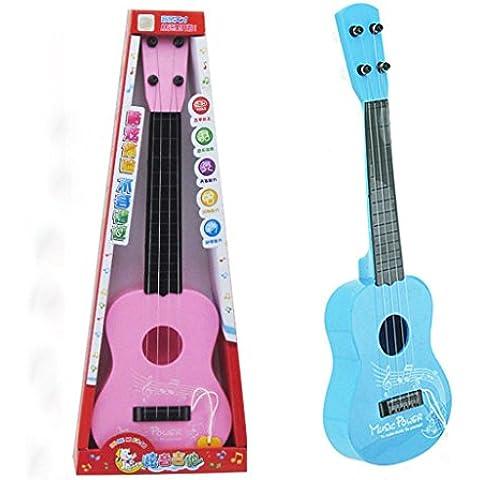 Juguete Del Bebé, Oyedens Desarrollo De Simulación Sabiduría Los Niños Del Bebé De La Guitarra Del Regalo La Música De