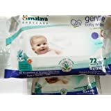 Himalaya Gentle Baby Wipes(72 Pieces)