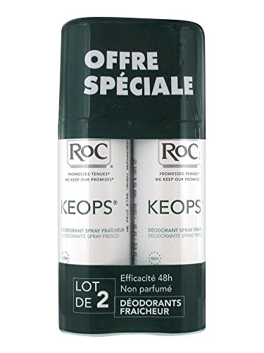 KEOPS DUO DEO SPRAY SEC LOT DE