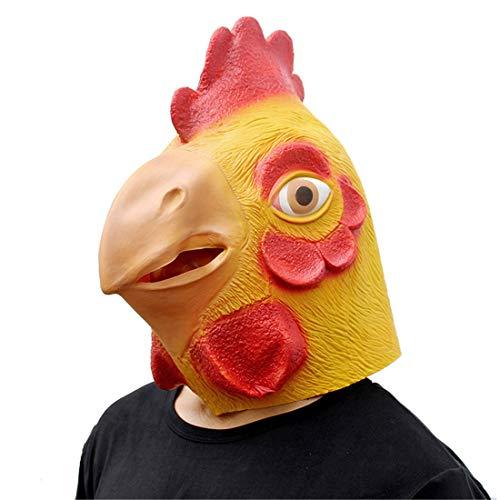 Realistische Animal Wig Schwanz Maske Halloween Dekoration Kostüm Maske Cosplay Volle Kopfmaske ()