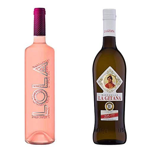 Lola Rosado Y Manzanilla La Gitana - D. O. Campo De Borja Y D. O. Manzanilla De Sanlúcar De Barrameda - 2 Botellas De 750 Ml