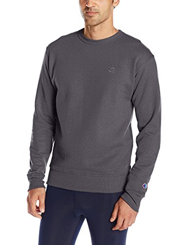 Champion Men's Powerblend® Fleece Pullover Crew XL Grey (Champion Sportbekleidung)