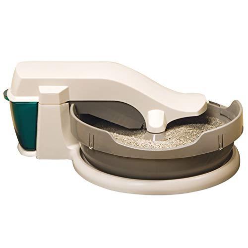 Toilette per gatti Automaticamente Pulito lettiera, lettiera elettrica, Facile da Pulire e deodorare automaticamente