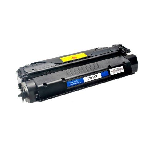 Laserjet 3380 Serie (Logic-Seek Toner kompatibel zu HP C7115X 15X Laserjet 1000 1200 Serie - Schwarz, 4.000 Seiten)