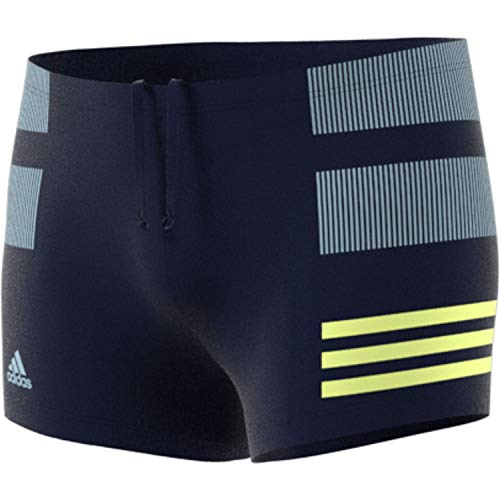 adidas Herren Infinitex Colorblock Badeshorts Legend Ink/Hi-Res Yellow 8