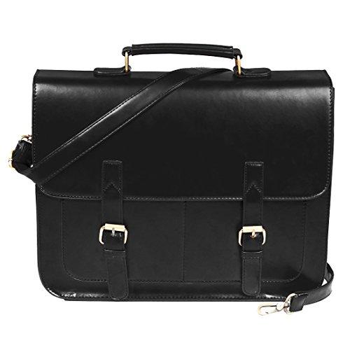 ecosusi-mens-14-laptop-retro-smart-professional-faux-leather-briefcase-pratical-document-carrier-mes