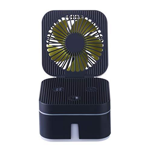 ALLTA 2019 Rubik Cube humidificador con Ventilador con Ambiente de Oficina portátil...