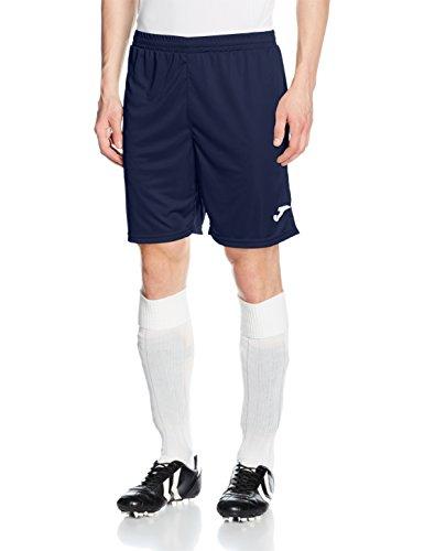Joma Erwachsene Team Shorts 100053.331, blau/Marino, M, 9996509544071 (Marine-blau-team-logo-shorts)