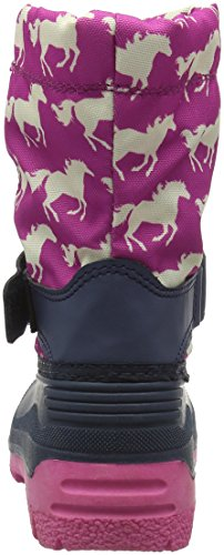 Hatley  Fairy Tale Horses Winter Boot, Bottes fille Rose