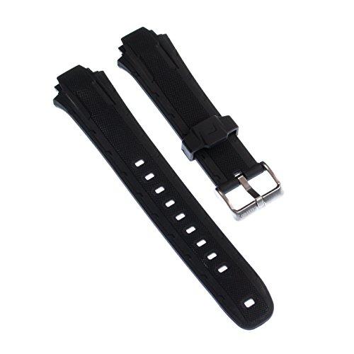 Correa de reloj Calypso nanoclipz-material de PU negro Fashion para Calypso K5625, K5616 relojes