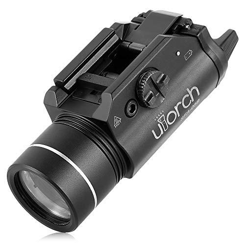 JCPGW LED wasserdichte Aluminiumlegierung-Entfernungsmesser-Bereich-Taschenlampe-bewegliche dauerhafte stoßsichere Fackel für im Freienaktivitäten